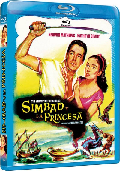 Simbad Y La Princesa (Blu-Ray) (Bd-R) (The 7th Voyage Of Sinbad)