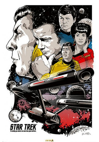 Star Trek. 50th Aniversario (POSTER)