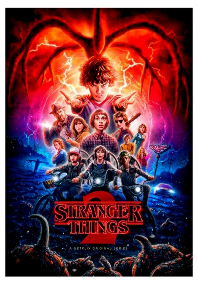 Stranger Things - 2ª Temporada (POSTER)