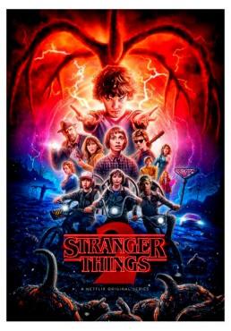 Stranger Things - 2ª Temporada (POSTER)