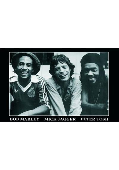 Bob Marley, Mick Jagger & Peter Tosh (POSTER)