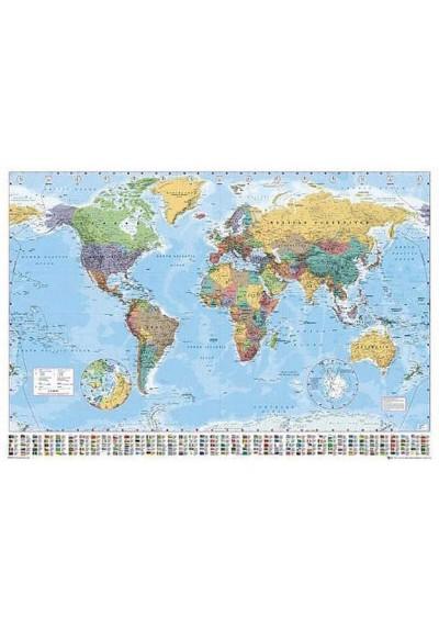 Mapa del Mundo Politico (POSTER)