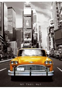 Taxi no.1 en Nueva York (POSTER)