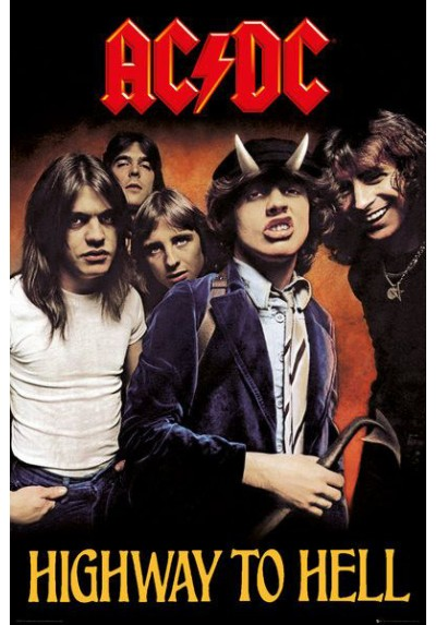 AC/DC - Highway to Hell (POSTER)