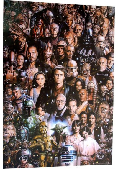 Star Wars Personajes (POSTER)