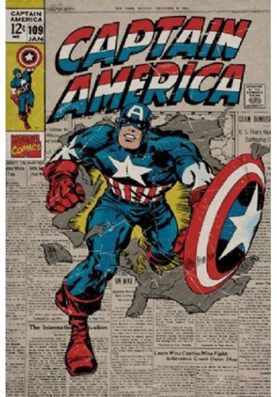 Capitán América (POSTER)