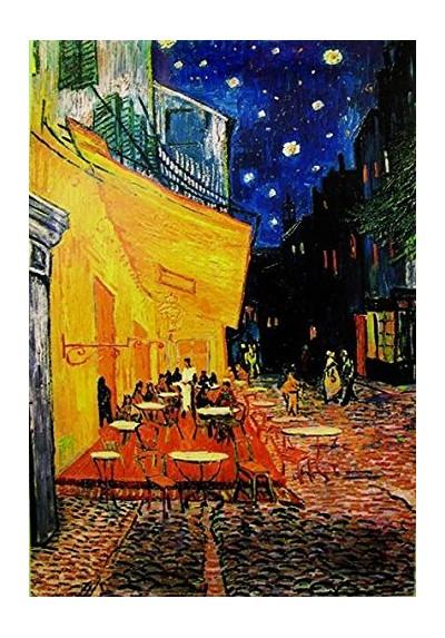 Terrasse de Cafe la nuit (POSTER)