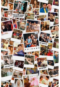 Friends - Polaroid (POSTER)