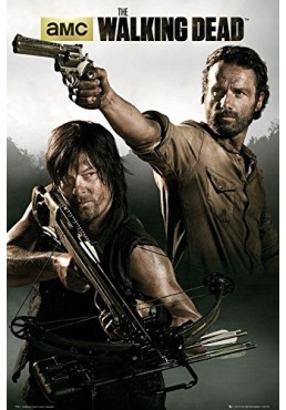 The Walking Dead - Rick Grimes & Daryl Dixon (POSTER)