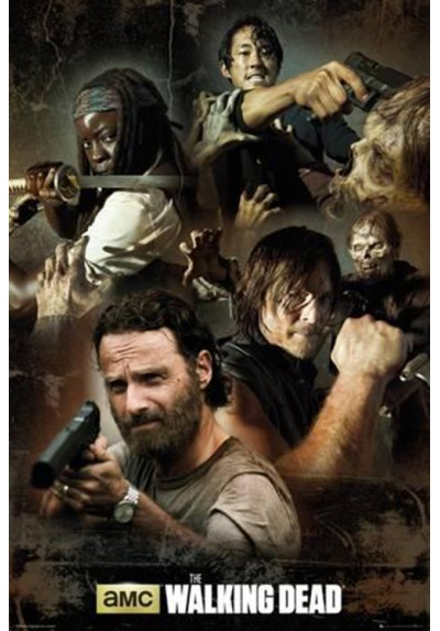 The Walking Dead -  Personajes (POSTER)