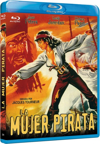 La Mujer Pirata (Blu-Ray) (Bd-R) (Anne Of The Indies)