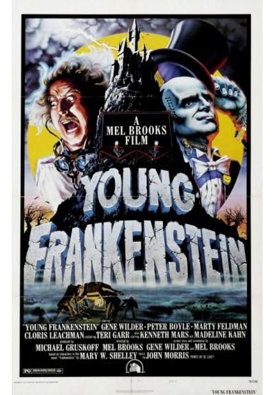 El Jovencito Frankenstein (POSTER)