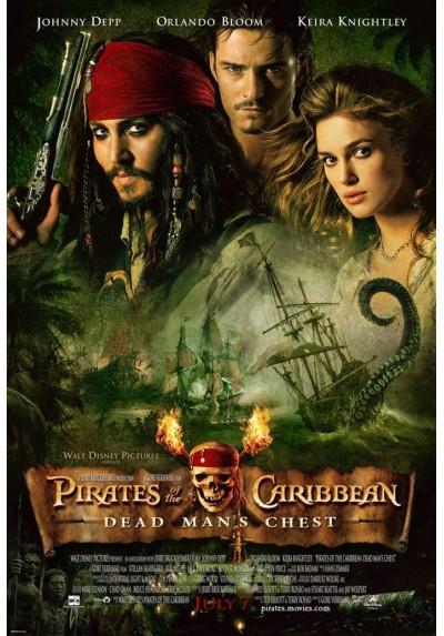 Piratas del Caribe - El Cofre del Hombre Muerto (POSTER)