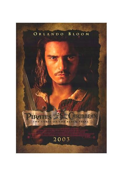 Orlando Bloom - Los Piratas del Caribe (POSTER)