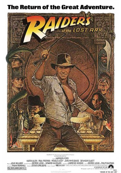 Indiana Jones y en Busca del Arca Perdida (POSTER)