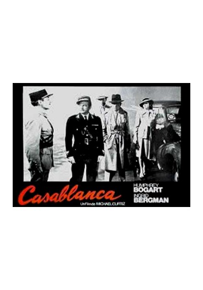 Casablanca - Final (POSTER)