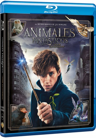 Animales Fantásticos Y Dónde Encontrarlos (Blu-Ray + Copia Digital) (Fantastic Beasts And Where To Find Them)