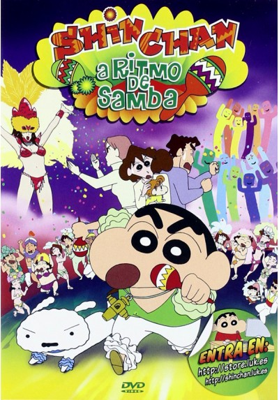 Shin Chan: A Ritmo De Samba (Crayon Shin-Chan)