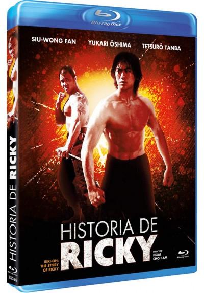 Historia De Ricky (Blu-Ray) (Lik Wong)