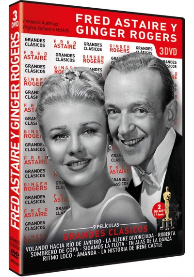 Pack Grandes Clásicos: Fred Astaire y Ginger Rogers