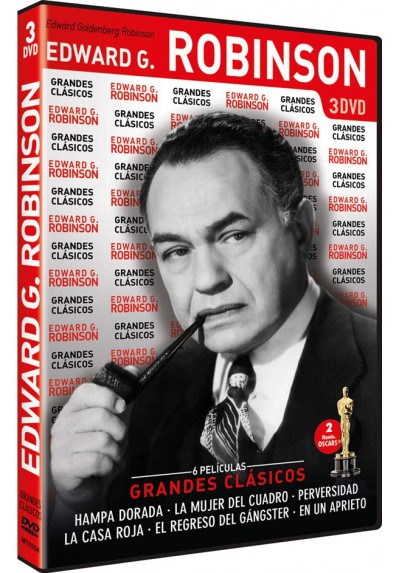 Pack Grandes Clasicos: Edward G. Robinson