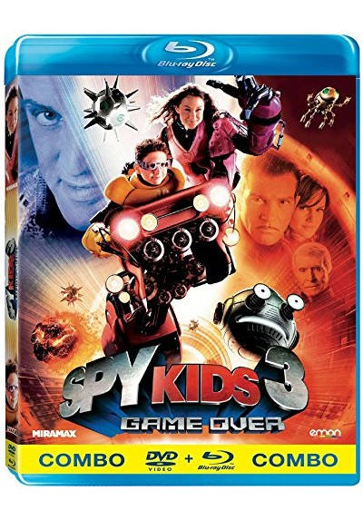 Spy Kids 3 (Blu-Ray + Dvd)