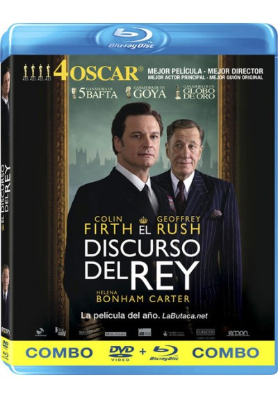 El Discurso Del Rey (Blu-Ray + Dvd) (The King´s Speech)