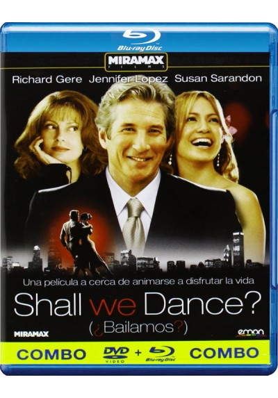 Shall We Dance? (Bailamos?) (Blu-Ray + Dvd)