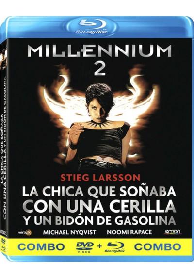 Millennium 2 : La Chica Que Soñaba Con Una Cerilla Y Un Bidón De Gasolina (Blu-Ray + Dvd) (Män Som Hatar Kvinnor)