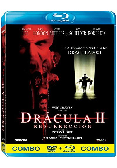 Drácula II : Resurrección (Blu-Ray + Dvd) Wes Craven Presents Dracula II: Ascension