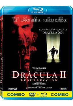 Drácula II : Resurrección (Blu-Ray + Dvd) Wes Craven Presents Dracula II: Ascension
