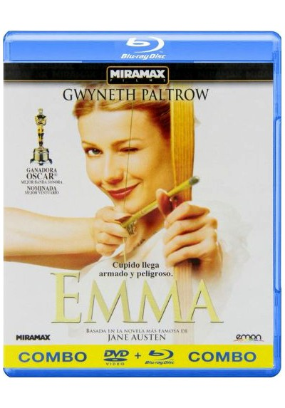 Emma (1996) (Blu-Ray+ DVD)