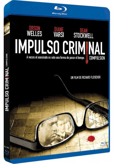 Impulso Criminal (Blu-Ray) (Bd-R) (Compulsion)