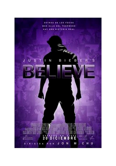 Justin Bieber, Believe (POSTER)