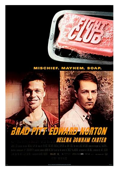 El Club de la Lucha - Brad Pitt y Edward Norton (POSTER)