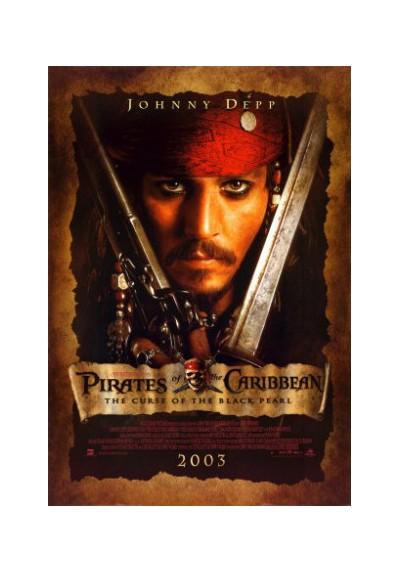 Jack Sparrow - Piratas del Caribe (POSTER)