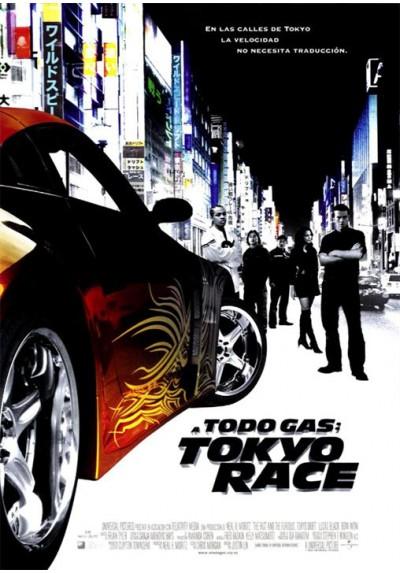 A todo gas: Tokyo Race (POSTER)