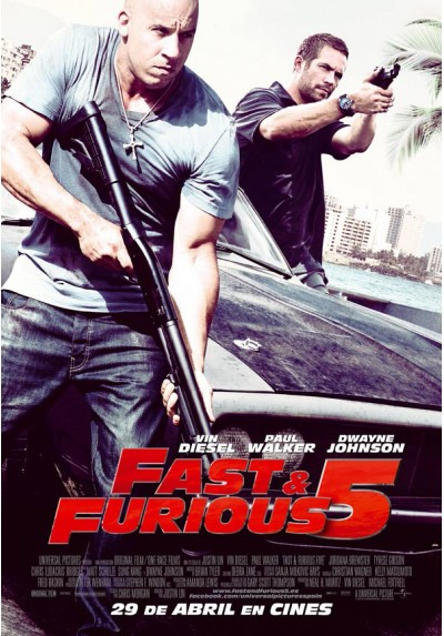 Fast & Furious 5 (POSTER)