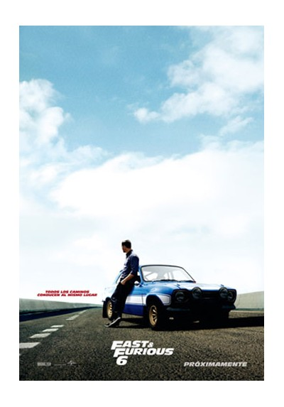 Fast & Furious 6 (POSTER)
