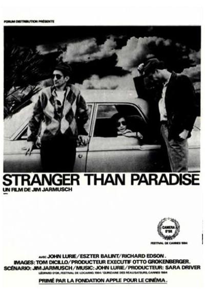 Extraños en el Paraíso (POSTER)