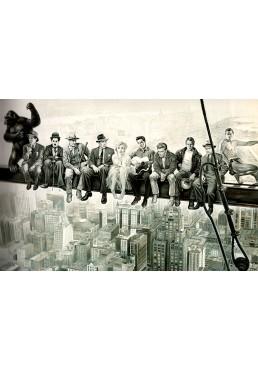 Actores en el andamio de Nueva York (POSTER)