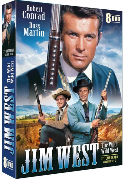 Jim West - 2ª Temporada - Vol 1 y 2