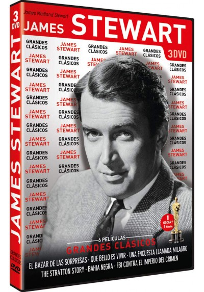Pack Grandes Clásicos: James Stewart