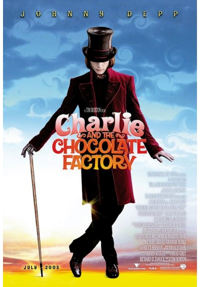 Charlie y la fábrica de chocolate  - Johnny Deep (POSTER)