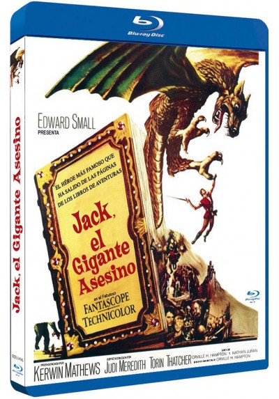 Jack, El Gigante Asesino (Blu-Ray) (Bd-R) (Jack, The Giant Killer)