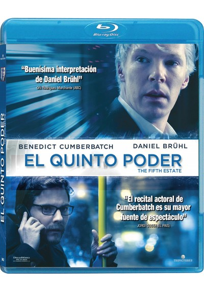 El Quinto Poder (Blu-Ray) (The Fifth Estate)