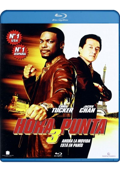 Hora Punta 3 (Blu-Ray) (Rush Hour 3)