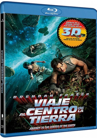 Viaje Al Centro De La Tierra (2008) (Blu-Ray + 3D) (Journey To The Center Of The Earth)