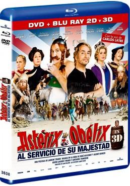 Astérix Y Obélix: Al Servicio De Su Majestad (Blu-Ray 3d + Blu-Ray + Dvd) (Astérix Et Obélix: Au Service De Sa Majesté)