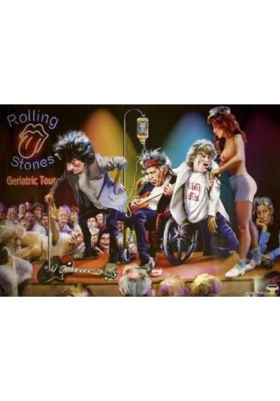 Rolling Stones - Geriatric Tour (POSTER)